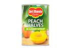 Del Monte Peach Halves in Light Syrup 420 g