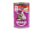 Whiskas Pate Cat Food with Beef 400 g