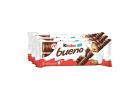 Kinder Bueno Chocolate Wafer with Milk & Hazelnut Flavour 3x43 g
