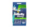 Gillette Blue II Plus Razors 10 Pieces