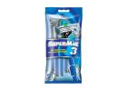 SuperMax Triple Blade Disposable Razors 5 pcs