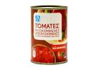 AB Chopped Peeled Tomatoes in Slightly Concentrated Tomato Juice 400 g
