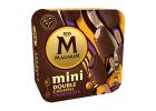 Magnum 6 Mini Double Ice Creams Caramel & Chocolate