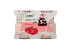 Biotos Bio Dessert Yoghurt with Strawberry Flavour 2x125 g