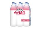 Evian Natural Mineral Water 6x1.5 L