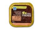Family Friends Wet Complete Cat Food with Salmon and Shrimp 100 g
