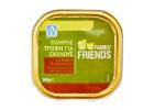 Family Friends Complete Dog Food with Veal & Chicken 300 g