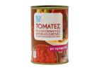 AB Chopped peeled Tomatoes with Onion on Slightly Concentrated Tomato Juice 500 g
