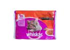 Whiskas Pouch Cat Food in Gravy Meat Selection 4X100 g