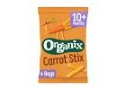 Organix Carrot Sticks 4+ months 4x15 g