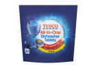 Tesco All-In-One Dishwashing Tablets Lemon 30 Pieces