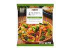 Tesco Frozen 4 Steam Bags with Carrot, Broccoli & Corn 640 g