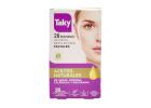 Taky 20 Wax Strips for Facial Hair Removal
