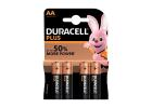 Duracell Plus Batteries Power AA Χ4 Pieces