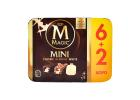 Magnum Magic Mini Classic, Almond, White Ice Creams 6+2 Free 480 ml