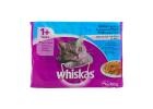 Whiskas Pouch Cat Food in Jelly Fish Selection 4X100 g