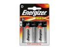 Energizer Max D Alcaline Batteries 2 Pieces