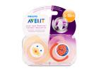 Avent Soother Animal Girls 6-18 Months 2 Pieces