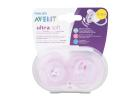 Avent Soother 0-6 Months Ultra Soft Gilr 2 Pieces