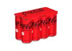 Coca Cola Zero Soft Drink 8x330 ml
