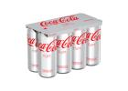Coca Cola Light  Soft Drink 8x330 ml