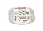 Alphamega Free Range Medium Eggs 6 pcs