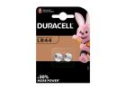 Duracell Batteries LR44 x2 Pieces