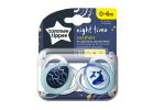 Tommee Tippee Soother Night Time 0-6 Months 2 Pieces