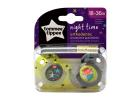 Tommee Tippee Soother Night Time 18-36 Months 2 Pieces