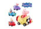 Peppa Pig Mini Figures with Vehicle Assorted 2+ Years CE