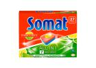 Somat Dishwashing Tabs with Lemon & Lime 27 Washes 486 g