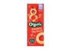 Organix Strawberry Baby Biscuits for 10+ Months 54 g