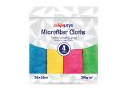Alphamega Microfiber Cloths Multi-Purpose Cloths 38x38 cm 4 Pieces