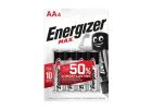 Energizer Max Batteries AA4 x4 Pieces