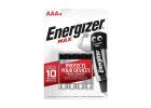 Energizer Max Batteries AAA4 x4 Pieces