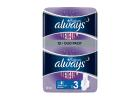 Always Ultra Platinum Sanitary Pads Night 12 Pieces