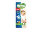 Huggies Freedom Dry Diapers No.4 8-12 kg 44 Pieces