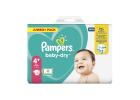 Pampers Baby diapers No4+ Jumbo Pack 10-15 kg 78 Pieces
