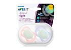Avent Girl Soother 0-6 Months 2 Pieces