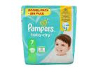 Pampers Baby-Dry Baby Nappies No7 for 15+ kg 50 Pieces
